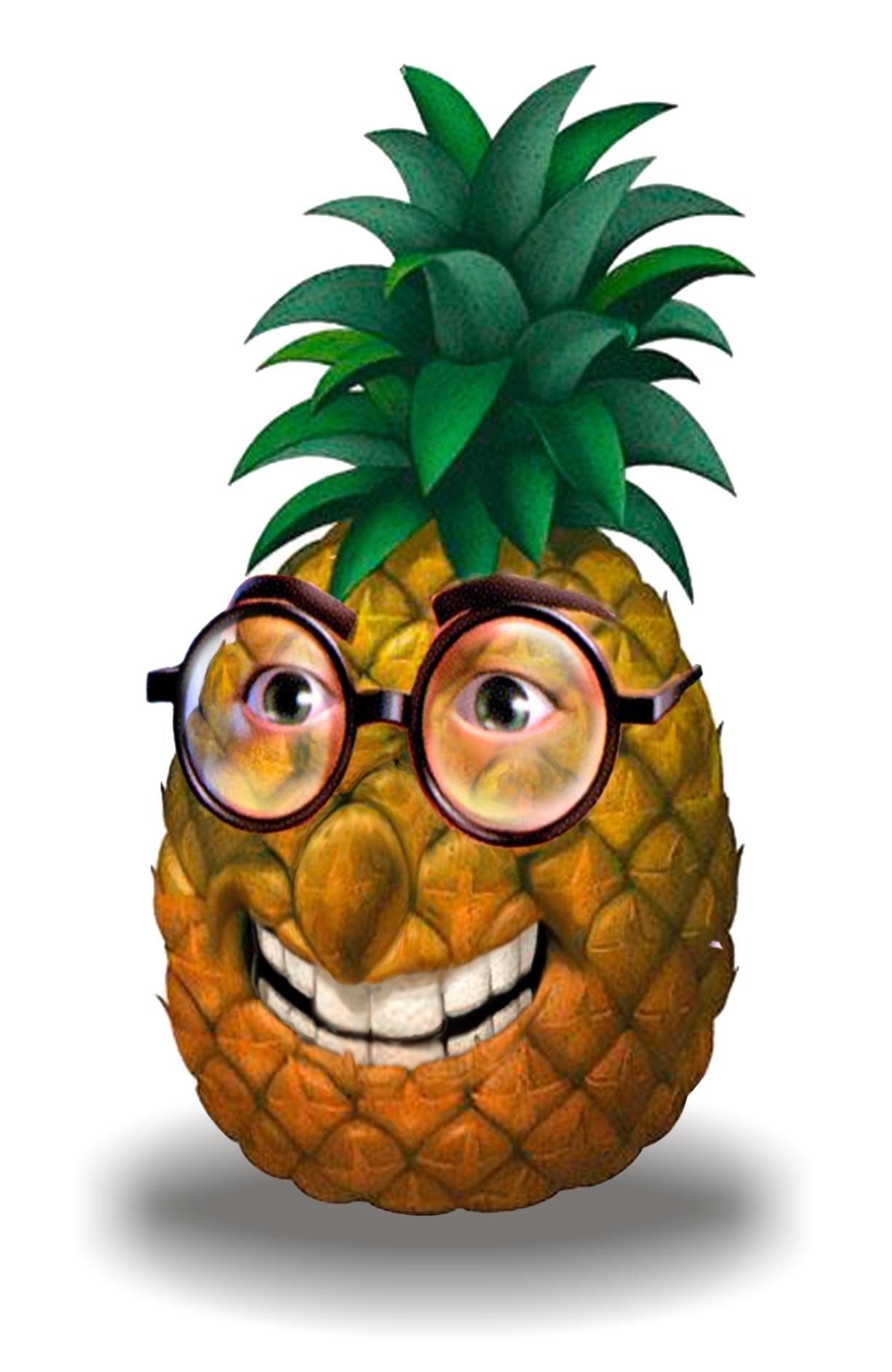 Плейкаст, картинки с ананасом смешные